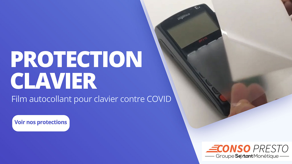 protection clavier TPE Covid